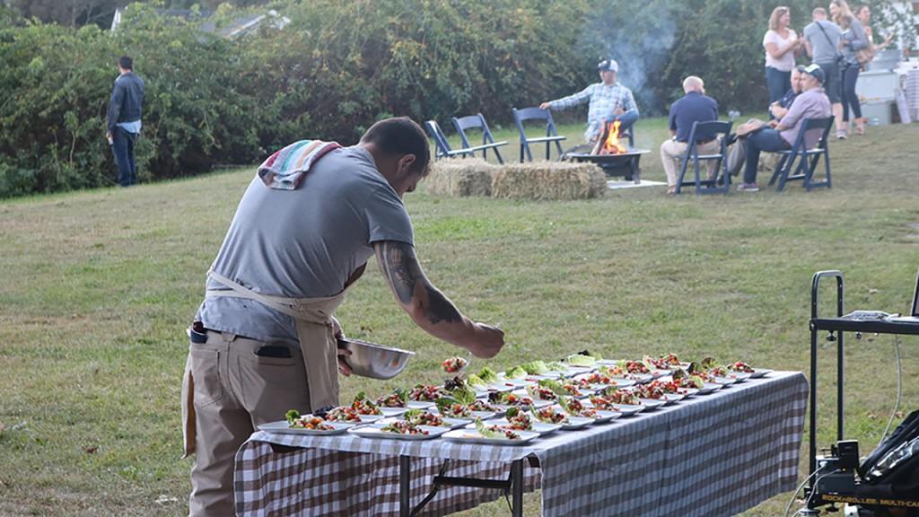 Chef Yankel at work.
